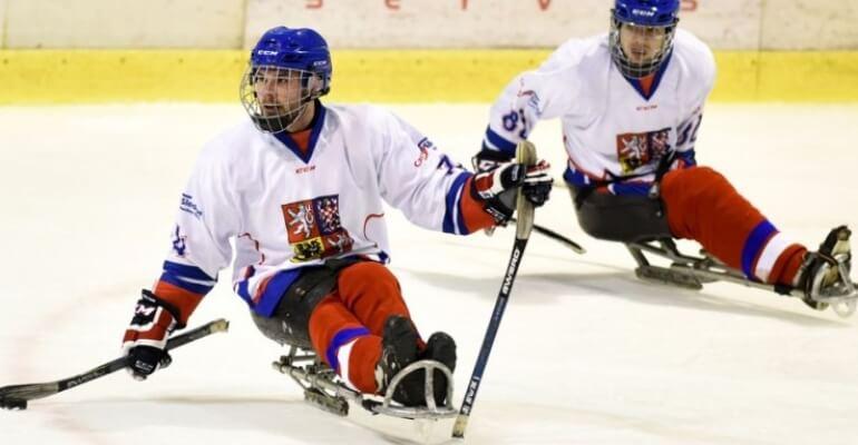 Na Kateřinkách se bude hrát také sledge hokej