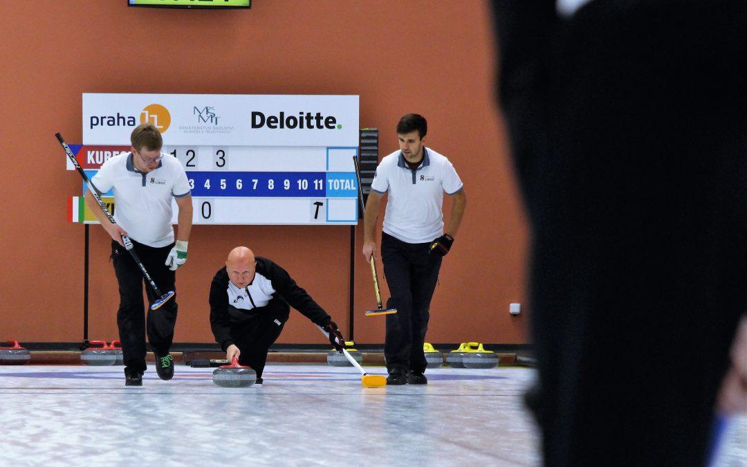 Curling na obrazovkách ČT.