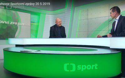 O Areálu ledových sportů se mluví na ČT4.