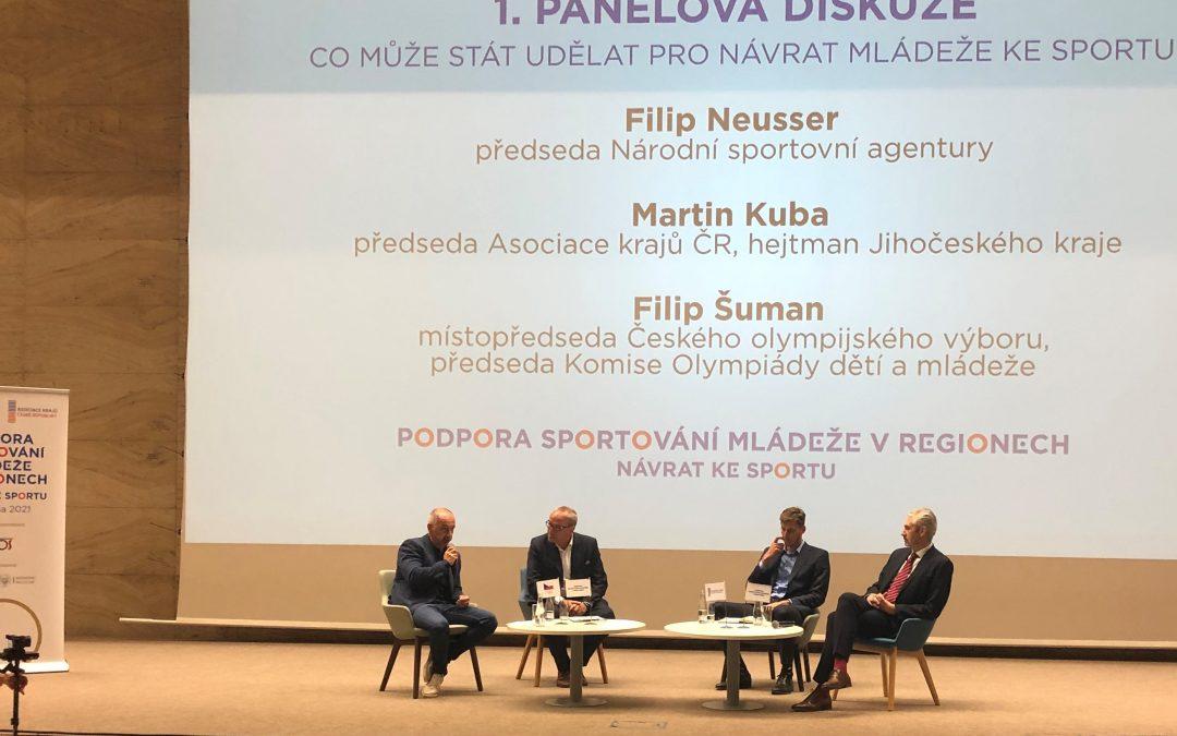 Konference AKČR a ČOV.